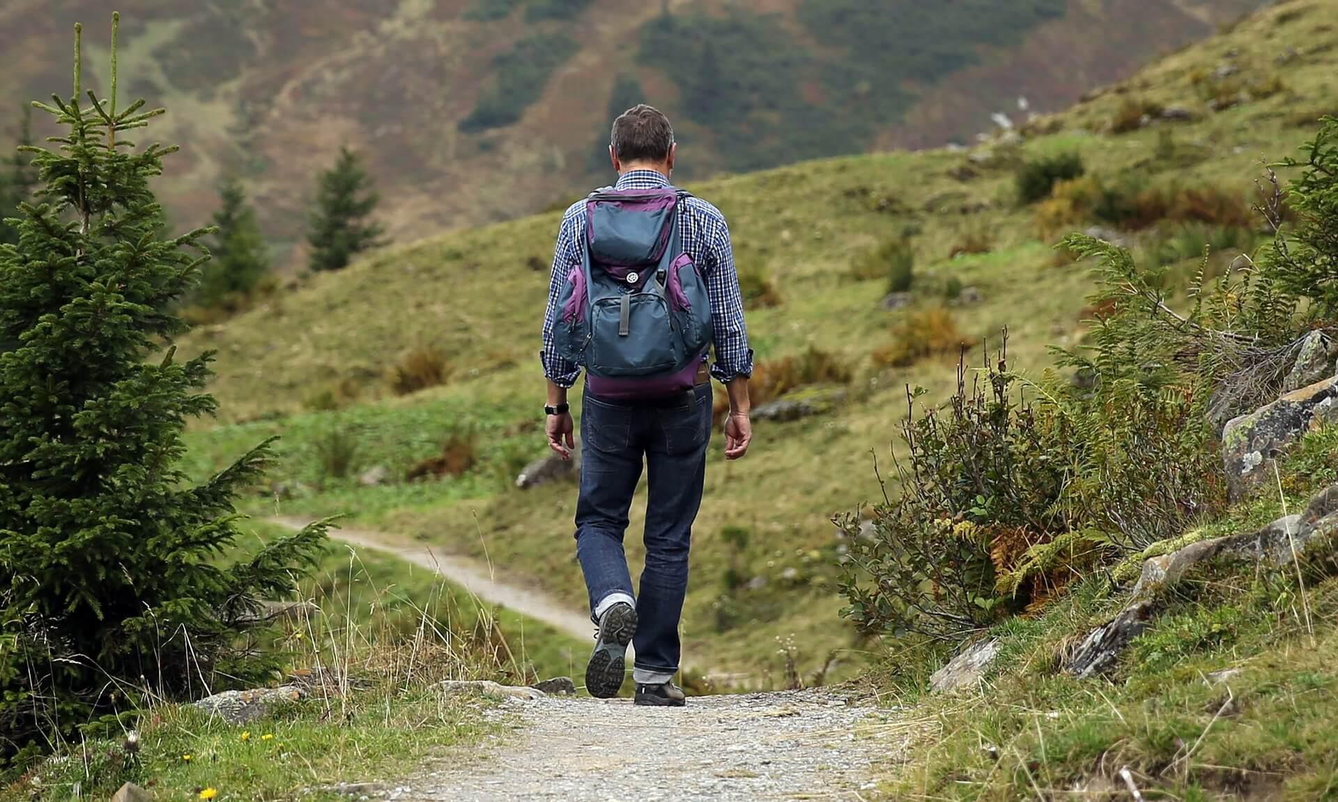 wandelen met rugzak (1)
